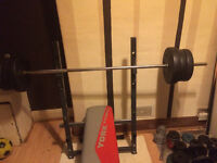 York fitness weight bench ( FREE FOR UPLIFT ) All Set MUST SEE!!!