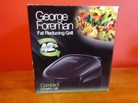 George Foreman 2 portion fat reducing health grill