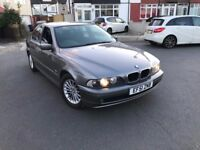 BMW 520I AUTO TIP 2002 LONG MOT FSH 2 OWNERS FROM NEW 2 KEYS, 140K