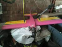 Model airplane complete