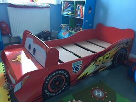 Disney cars toddler bed very good condition