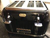 Breville VTT476 Impressions 4 Slice Toaster - Black