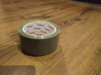 Brown Packaging Tape - Vibrac Low Noise tape.