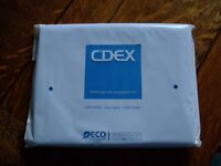 Blue iPad 234 leatherette protective case