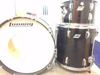 Vintage Blue/Olive badge Ludwig Drums. Must Sell. Moving.