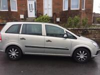 Vauxhall Zafira 1.6 Life £1500 fixed price