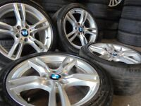 18inch Genuine M SPORT bmw Alloys Wheels 5 Series Vw T5 E60 E46 e30 e39 z4