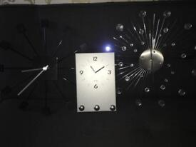 Set of 3 clocks