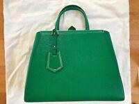 AUTHENTIC Rare NEW FENDI 2Jours Calf Leather DESIGNER handbag tote shoulder bag £1420