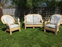 Conservatory (outdoor) furniture 3 piece.