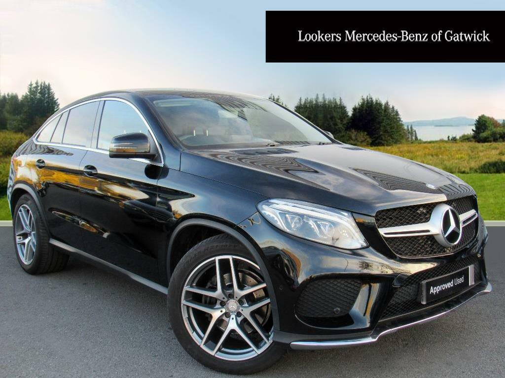 Mercedes-Benz GLE Class GLE 350 D 4MATIC AMG LINE (black) 2016-03-04