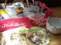 Large box of mixed items/treasures and collectibles