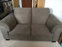 ikea EKENÄS 2 Seater Sofa And armchair excellent condition! In light brown
