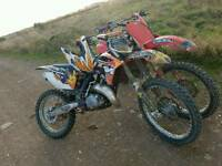 Ktm 150 sx not yz cr kx tm 125 250 350