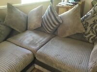 Left hand Corner suite, dfs, immaculate condition. £170 ONO. CONTACT 07789045030.