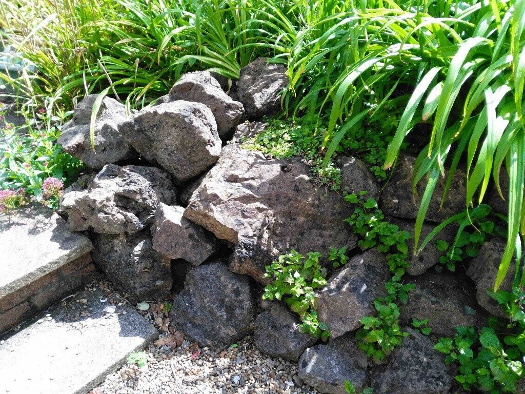 Rocks for garden rockery, weathered granite ideal for making garden feature