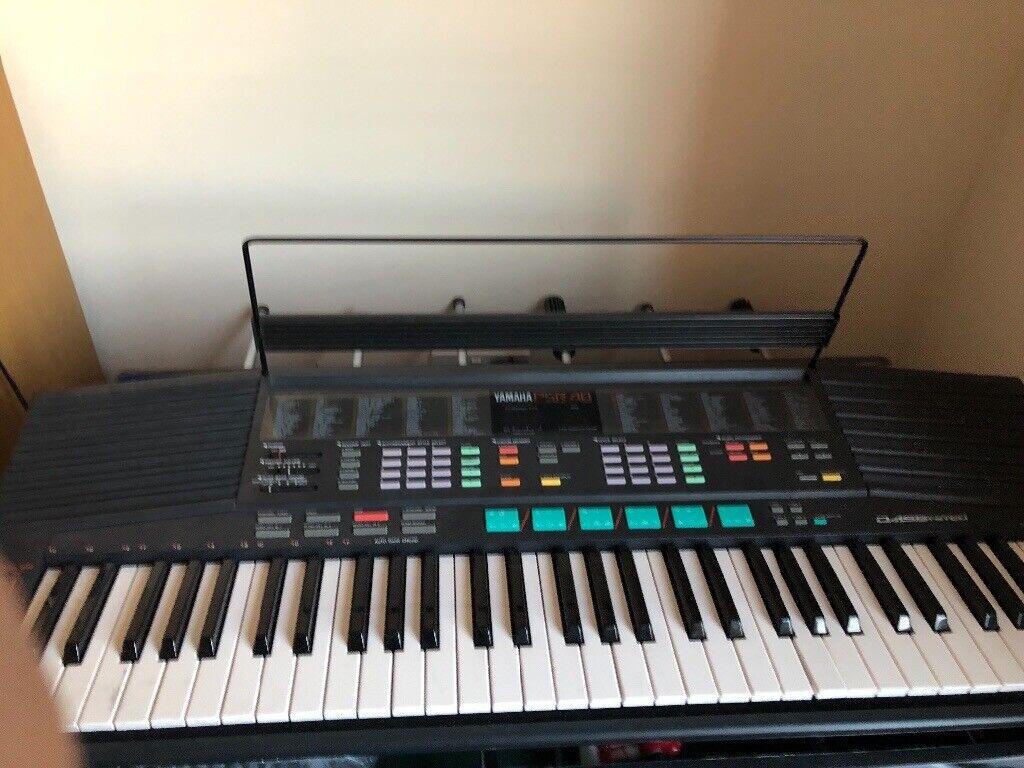 Yamaha PSR 48 electric keyboard | in Edinburgh | Gumtree