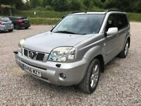 2006 NISSAN X-TRAILX-AVENTURA DCI F/S/H LONG MOT NICE CONDITION.
