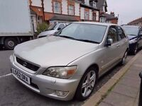 2002 LEXUS IS200 SPORT..LONG MOT...SAT NAV..QUICK SALE