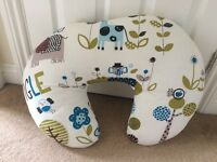 Lovely nursing/feeding cushion - jungle print