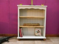 Solid Pine Chic Bookcase £60. ONO