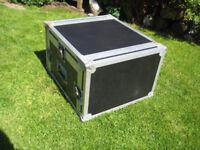 heavy duty 19 inch rack mount fight case