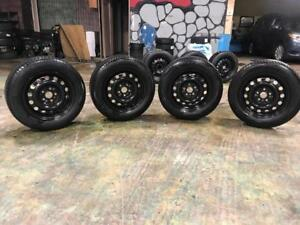 215 60R 16 MICHELIN X ICE XI3 WINTER SNOW TIRES & RIMS 5X114.3 SCION TC TOYOTA NISSAN MAZDA ACURA HONDA DOT1515 9/32NDS