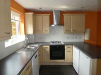 Preloved Kitchen - multiple kitchen cupboards, worktop, gas hob, elec oven