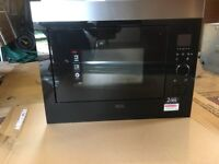 AEG INTEGRATED MICROWAVE OVEN - MODEL MBE2658S-M