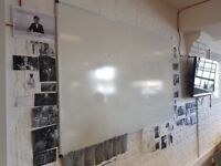 9 x rectangle white boards