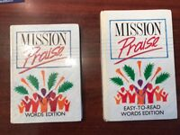 Mission Praise Combined Words Hymn books 88