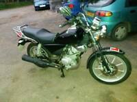 Yamaha ybr custom