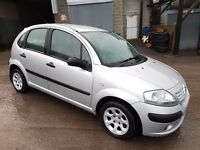 2003 CITROEN C3 1.4 DESIRE HDI 5 DOOR HATCH BACK SILVER 12 MONTHS M.O.T