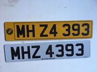 BMW Z4 Private Number Plate