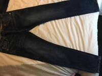 Men's money jeans