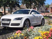 2009 (09) AUDI TT 2.0 TFSI COUPE - White, 1 Owner, Full Audi Serv Hist & Timing Belt & FREE MOT's!!