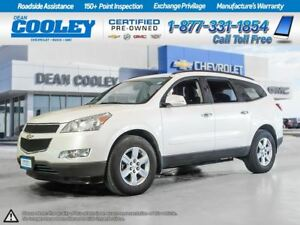 2012 Chevrolet Traverse AWD/LT/HTD.FRONT SEATS/BLUETOOTH