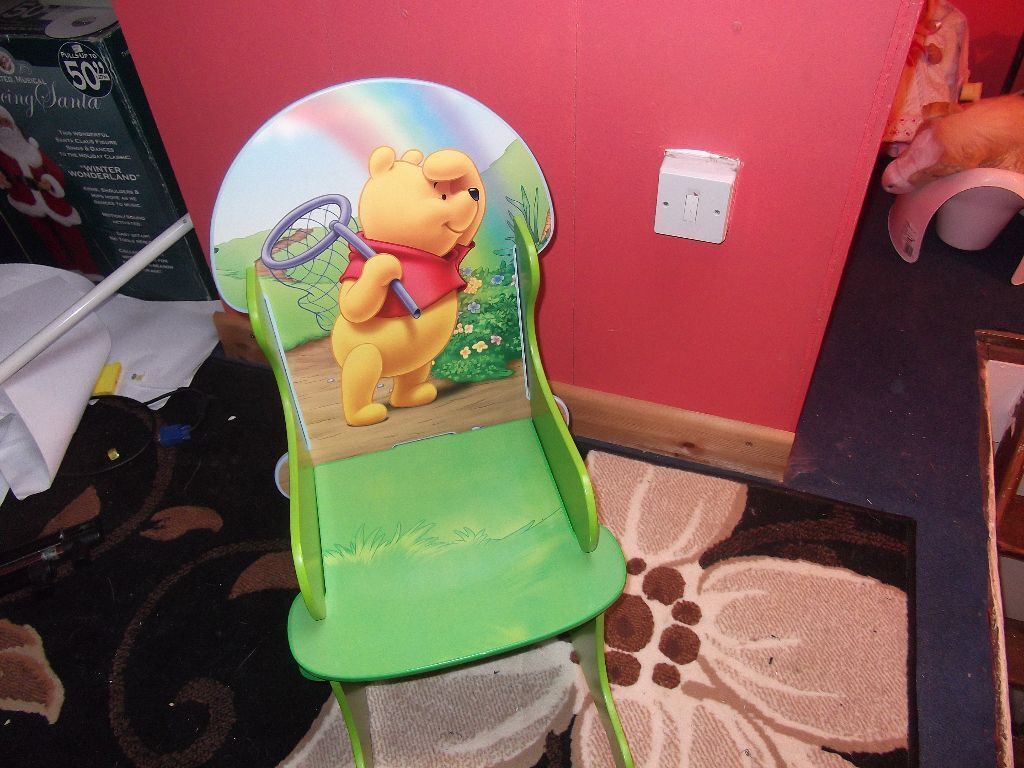 Superb img of winnie the poo rocking chair £10 in East End Glasgow Gumtree with #A3283A color and 1024x768 pixels