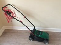 Lawnmower, strimmer and bin