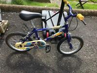 Raleigh child's bike works well only £12