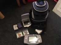 Gameboy Advance with accessories