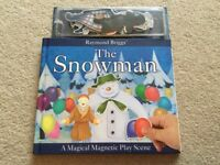 The Snowman Magical Magnetic Play Scene