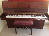 Upright Modern Piano for sale – Schaefer.