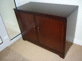 Mahogany cabinet by William Bartlett