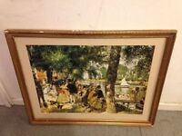 Renoir - La Grenouillere - The Frog Pond - Framed Painting