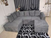BRAND NEW DYLAN CORNER UNIT IN JUMBO CORD FABRIC OR (3+2) **NATIONWIDE DELIVERY**