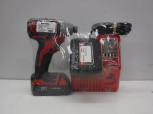Milwaukee Cordless Impact Driver + Battery & Charger - We Buy and Sell Used Tools at Cash Pawn - 32330