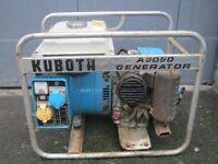 Kubota Petrol Generator 3kva