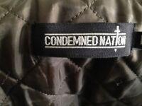 Condemned Nation Bomber Jacket Size Medium