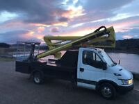 CHERRY PICKER HIRE WITH OPERATOR, FULLY INSURED, ALL TRADES CATERED FOR.